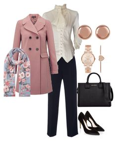 """""""Workwear Wed"""" by hadia-i on Polyvore featuring Monsoon, Miss Selfridge, Michael Kors, Argento Vivo, Karl Lagerfeld and Accessorize"""