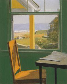 ALEXANDER FARNHAM View of the Beach, Watch Hill, RI (c.1958-60)