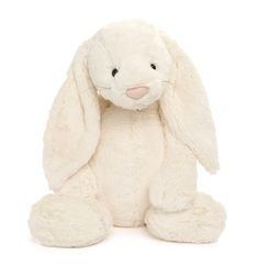 My 4 year old has the big and small one of this Jellycat Stuffed bunny. We found them at GAP but sold on: Sugar Babies. She loves how soft they are and I like how well their made.