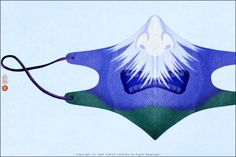 The mask of Mt. FUJI by Yoriko Yoshida