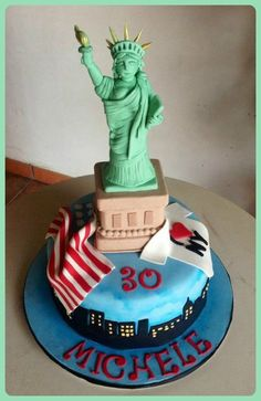 New York New York  Cake by Sabrinup
