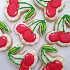 Doughmestic Housewife - cherry cookies