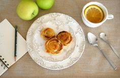 Danish Pastries with Apple Filling