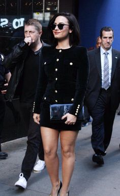 Demi Lovato out in New York - October 29th