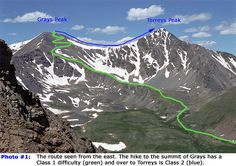 GRAYS AND TORREYS PEAKS: 2 wonderful 14ers that we have both hiked. We would suggest camping the night before you hike, though you can also just leave town around 5AM to get there and hiking by 7. The hike itself only takes about 6 or so hours to do both peaks. Beautiful views.