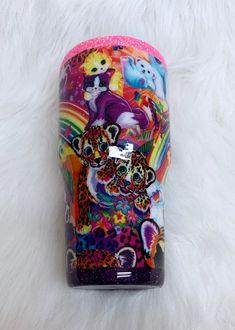 Personalized Tumblers, Custom Tumblers, Kids Tumbler, Tumbler Cups, Glitter Cups, Glitter Tumblers, Custom Cups, Lisa Frank, Diy Keychain