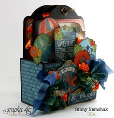 Tag Book in a Box by Ginny Nemchak  (091715)  G45  World's Fair