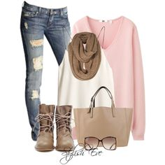 """Lace-up Romantic Boots"" by stylish-eve on Polyvore"