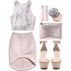 A fashion look from June 2013 featuring Forever 21 tops, Zara sandals and Marc Jacobs clutches. Browse and shop related looks.