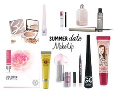 """Summer Date Make Up"" by ilikeshoppingit ❤ liked on Polyvore featuring beauty and Transparente"