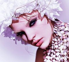 White soul ..♥ Marc Vallee #makeup