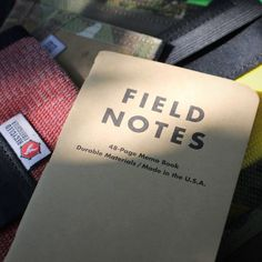 Do you carry fieldnotes? I actually carry fieldnotes moleskine and riteintherain notebooks. Which is you favorite?  #EveryDayCarry #EDC #Hardwork #USA #America #PocketDump #Wallet #Recycled #MadeInTheUsa #RecycledFirefighter #fieldnotes #riteintherain