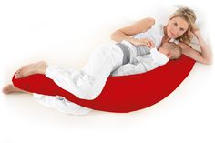 Original #Pregnancy & #Baby Feeding Pillow www.theraline.co.uk