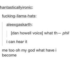 i've gone too deep into the phandom