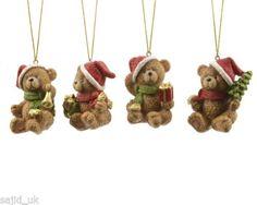 Christmas-Tree-Decoration-Kaemingk-Xmas-Bear-With-Hanger-Brown