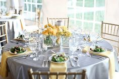 table - yellow and gray 2