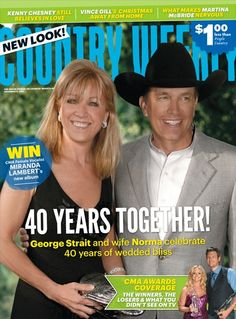 December 5, 2011 – George and Norma Strait: 40 Years Together! - Country Weekly