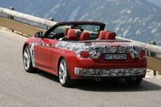 Spotted! The BMW 4-Series Convertible