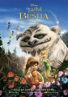 Tinkerbell and the Legend of the NeverBeast Movie Poster