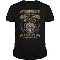 ADMITTING REPRESENTATIVE - WEDO T4 T-SHIRTS, HOODIES (22.99$ ==► Shopping Now) #admitting #representative #- #wedo #t4 #shirts #tshirt #hoodie #sweatshirt #fashion #style