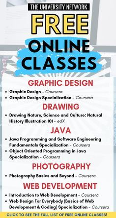 Learn New Skills For FREE! - Online Classes Want to acquire new skills to boost your resume without having to pay hundreds of dollars? Here's a handpicked list of free online courses to help you learn and save money! Free Courses, Online Courses, Free Online Coding Courses, Online Computer Courses, Free College Courses Online, Life Hacks Websites, Free Learning Websites, Best Educational Websites, Educational Toys