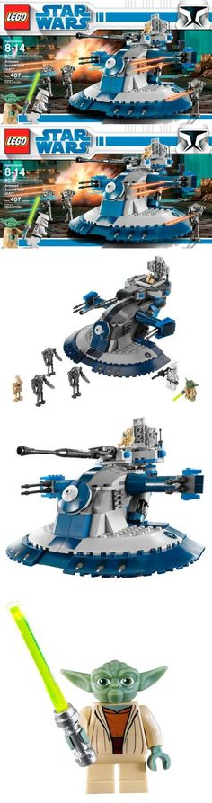 LEGO Star Wars Armored Assault Tank (AAT) (8018), Pieces: 407Assault tank vs. Jedi Master in a fight for the planet!Leading an army of Separatist super battle droids, the formidable Armored Assault Tank (AAT)TM glides quickly over the Clone Wars batt..., #Toys, #Building Sets