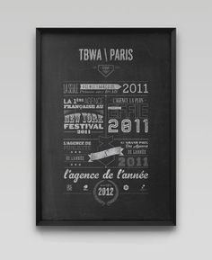 PERSONAL WORKS / TBWA PARIS agency of the year 2012 - Nicolas Cremmydas