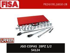 JGO COPAS 28PZ 1/2 54124. Piezas del juego 28- FERRETERIA INDUSTRIAL -FISA S.A.S Carrera 25 # 17 - 64 Teléfono: 201 05 55 www.fisa.com.co/ Twitter:@FISA_Colombia Facebook: Ferreteria Industrial FISA Colombia