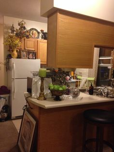 .... Loft Spaces, Kitchen, Table, Furniture, Home Decor, Cooking, Decoration Home, Room Decor, Kitchens