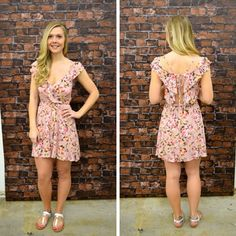 We love this colorful, floral, sun dress and the back detailing! -   $38 #springfashion #spring  #fashionista #shoplocal #aldm #apricotlaneboutique #apricotlanedesmoines #shopaldm #desmoines #valleywestmall #fashion #apricotlane #newarrival  #shopalb  #ootd #westdesmoines  #shopapricotlaneboutiquedesmoines #ontrend #floral #sundress