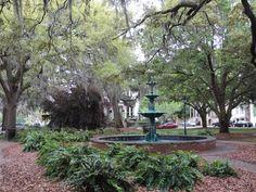 Lafayette Square in Savannah