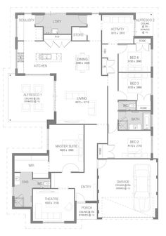 The Malta: 4 Bed, 2 Bath, 17.5m Home Design - From $179,990