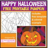 Halloween Coloring Page, free pumpkin printable