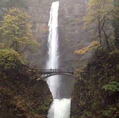 Multnomah Falls. Beautiful Pacific Northwest!