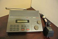 Uniden Bear Cat 100 Cannel 12 Band 800MHz Scanner BC860XLT Weather Police  #Uniden