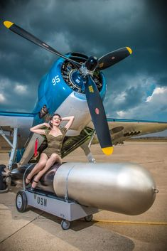 Vintage Aircraft – The Major Attractions Of Air Festivals - Popular Vintage Ww2 Aircraft, Military Aircraft, Grumman Aircraft, Pin Up Pictures, Old Planes, Military Art, Military Pins, Military Humor, Aircraft Painting