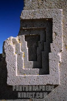 Puma Punku (Door of Puma)=precision cuts into stone? not with their technology...
