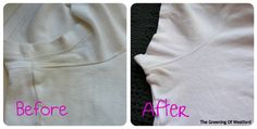 before and after eco-friendly stain remover