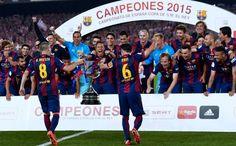 FCBarcelone campeon copa del rey