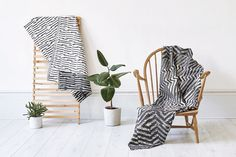 Picture of 7 designed by Myles Lucas Studio for the project Beatrice Larkin. Published on the Visual Journal in date 16 March 2018 Home Textile, Textile Design, Labour And Wait, Ercol Chair, Jacquard Loom, 24 September, Weaving Textiles, Close To Home, Elle Decor