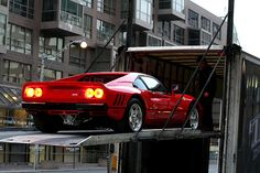 home delivery - wish it were coming to my garage.     Ferrari 288 GTO