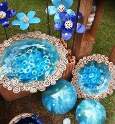 1000 images about keramik on pinterest garten ceramics and totems. Black Bedroom Furniture Sets. Home Design Ideas