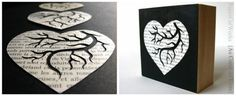 Book Love. Original Paper Cut by PaperCutWorks