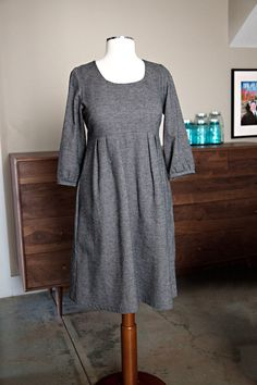 Washi dress with Tova sleeves