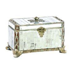 Sterling Paneled Mirror Box