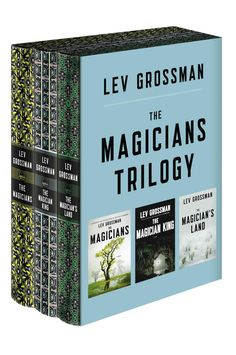 The entire New York Times bestselling Magicians trilogy, including The Magicians , The Magician King , and The Magician's Land , now available in a gorgeous boxed set Including four fan-designed chara