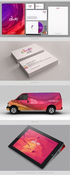 pinterest.com/fra411 #identity - Colocsty by Chris Bernay, via Behance