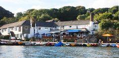 The Ferryboat Inn at Helford Passage, Mawnan Smith near Falmouth