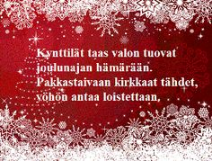 Tulostettavat runokortit joulukortteihisi Christmas Quotes, Christmas Greetings, Christmas Crafts, Christmas Decorations, Xmas, Christmas Ideas, Scandinavian Christmas, Diy Cards, Winter Wonderland