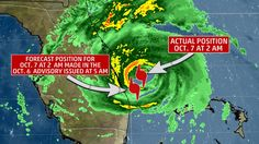 Florida Was Spared the Wrath of Hurricane Matthew's Worst Winds By Just Miles | The Weather Channel